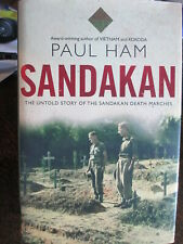 Sandakan Untold Story of Death Marches WW2 Australian POW Ham Book 1st ed hard C