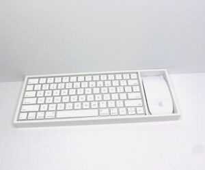 Apple Magic Keyboard 2 with Apple Magic Mouse 2 Wireless Bluetooth Connection.