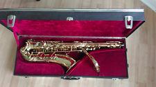 Selmer tenor saxos Mark VII, pintura de oro, vintage '76, con revisión general, Mint!