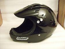 NOS ProRider Full Face BMX Helmet...Snell Certified...Bike..Black-Hand Laminated