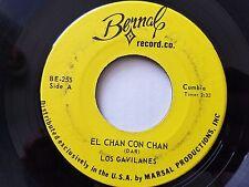 """LOS GAVILANES - El Chan Con Chan / Que Padre Es La Vida 7"""" CUMBIA RANCHERA Latin"""