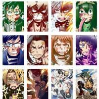 MY HERO ACADEMIA Anime Poster Midoriya Izuku Bakugou Katsuki Painting Ontvx  @sh