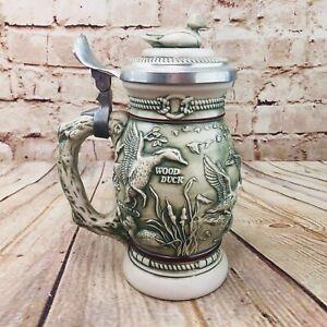 Vintage Avon Ducks Of The American Wilderness Collectors Beer Stein 1988