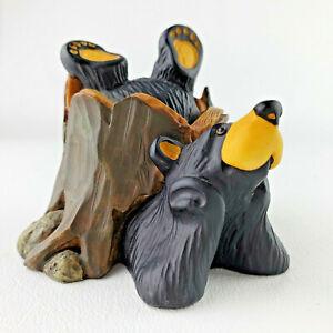 "Bearfoots Bears ""Dylan"" Figurine  -Big Sky Carvers- by Jeff Fleming  #0104/6911"