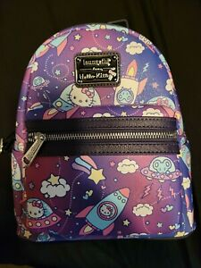 Hello Kitty Spaceship Loungefly Mini Backpack
