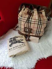 Authentic Burberry Bucket Bag