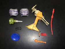 Vintage MOTU He-Man Accessory LOT! Fisto Stondar rokkon castle grayskull gun +