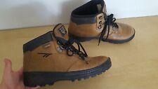 "Hi-Tec Hiking Boots Brown Leather ""Lady Transcender"" Lace Up Uk7.5 Eu41 Us9.5"