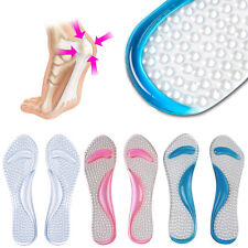 Gel Pad Arch Metatarsal Support Massage Insoles For High-Heels Sandal Shoes NEW