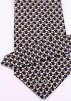 """Van Heusen Tie - Blacks/Grays/Yellows  4"""" Wide X 59"""" Long"""