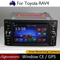 "6.2"" Navigation CAR DVD GPS Stereo Player Head Unit For Toyota RAV4 2013-2016"