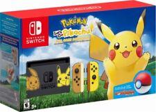 NEW! Limited Edition Nintendo Switch Pokemon Lets Go! Pikachu Bundle!