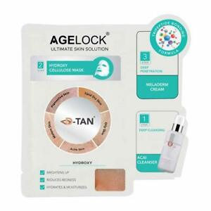 O3+ Agelock Hydroxy Glow At Home Facial Kit Boosts Skin Hydration 25ml Pack Of 3