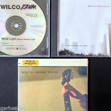 Wilco 3 CD Lot Being There 2 Disc New + Metal Drummer + What Light Promos Sngls