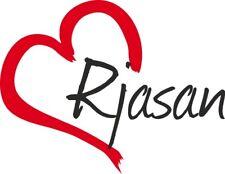 "Auto Aufkleber "" Rjasan "" Sticker Russland ca.9x11cm konturgeschnitten"