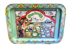 Vintage Cabbage Patch Kids 80s Metal Tin Retro Lunch Lap Tray Tv Serving Tray