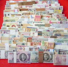 World paper money,100 Different  Banknotes,All Genuine,High Quality!