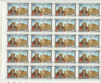Leaders Kings+Queens John+Castle Mint Never Hinged Stamps Part Sheet Ref 28292