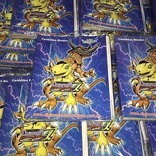 Digimon Alpha Evolve English Edition 4-slot Trading Card Binder Bandai Carddass