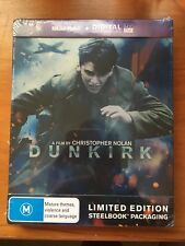 DUNKIRK: Limited Edition Steelbook Blu-ray™ + Digital Ultraviolet | 2 Disc Set