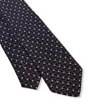 "Santostefano Men's Blue Polka-Dot 100% Silk Tie Made In Italy 3.75"" Width euc"