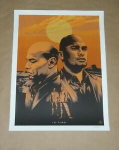 Breaking Bad Better Call Saul art print poster Los Primos The Cousins Jeff Boyes