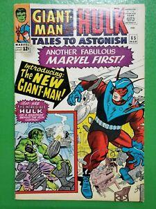 TALES TO ASTONISH #65 Giant-Man Hulk Lee Ditko 1965 Marvel VG
