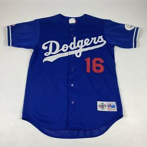 #16 LA Dodgers Jersey Majestic Authentic Diamond Collection S Small