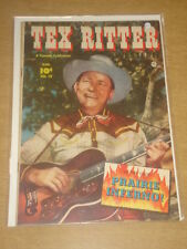 TEX RITTER WESTERN #12 FN+ (6.5) FAWCETT COMICS AUGUST 1952