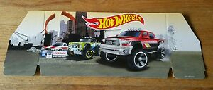 2015 Hot Wheels Rad Trucks Shipper Header Sign Datsun Toyota