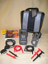 Fluke 41B Power Harmonics Analyzer with soft case