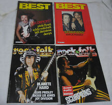 4magazines best et rock folk scorpions