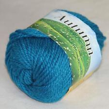 Sale 1 Ball 50g Soft Waem Chunky Thick Wool Hand Knitting Yarn Turquoise 248-218