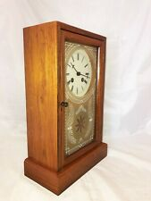 Vintage Cottage Clock for Mantel / Shelf