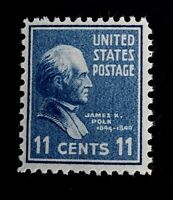 US Stamps, Scott #816 11c single VF/XF M/NH. Fresh & nice gum. 1939 Pres Issue