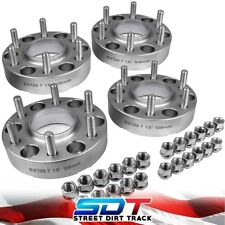 """Sil 1.5"""" For Toyota Tundra Tacoma 4Runner T100 Billet Wheel Spacers Hubcentric"""