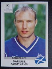 Panini Champions League 1999-2000 - Dariusz Adamczuk (Glasgow Rangers) #211