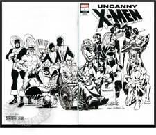 UNCANNY X-MEN v5 #1(1/19)COCKRUM WRAPAROUND B&W/HIDDEN GEM(WOLVERINE)CGC IT(9.8)