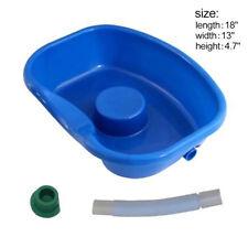 "Portable Plastic Shampoo Bowl Sink Hairwashing Beauty Salon Basin 27"" Hose PGS"