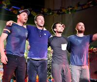 Chris Martin, Guy Berryman, Jonny Buckland, Will Champion photo -K7382- Coldplay