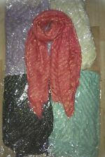 Ladies crinckley shimmery scarf