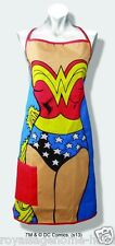 16429 Wonder Woman Apron Princess Warrior Kitchen Cooking BBQ Grill Chef Costume