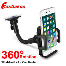Car Mount Holder Cradle Dock Windshield for iPhone Galaxy GPS Mobile Cell Phone