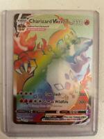 Pokemon Champions Path Rainbow Charizard Vmax 74/73 Repack EX GX V Vmax *READ*