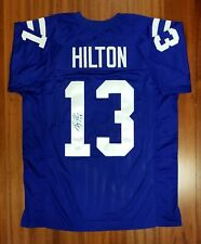 TY Hilton Autographed Signed Jersey Indianapolis Colts JSA