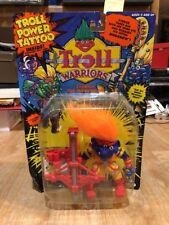 Troll Warriors Eyerick The Marksman 1993 Tyco Troll Power Tattoo Orange New
