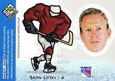 1998-99 UD Choice Bobbing Head #29 Brian Leetch
