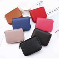 New Men Women Card ID Credit Card Holder PU Leather Pocket Case Purse Wallet