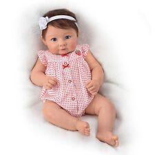 17'' Ava Elise Lifelike Baby Doll by Ashton Drake , New