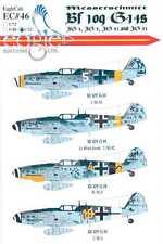 EagleCals Decals 1/32 MESSERSCHMITT Bf-109G-14 Fighter